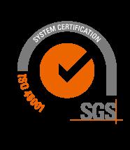 SGS ISO 45001 logo